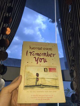 Harriet Evans 'I remember you'