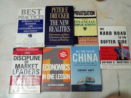 Selection of business history, strategy management, economics