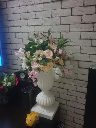 Artificial Flower with vase