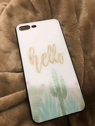 iPhone 7+/8+s Case TEMPERED GLASS