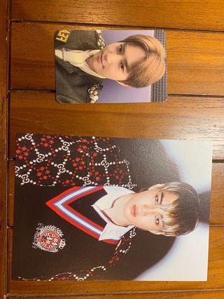 EXO photo card and post card
