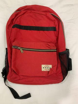 🚚 Red Converse Backpack