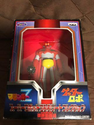 全新 日版 Banpresto 眼鏡廠 1998 東映動畫編 機械人大戰 三一萬能俠 鐵甲萬能俠Z 組立式 地台座 Figure 景品