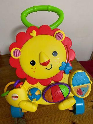 🚚 REPRICED! Fisher Price Lion Walker