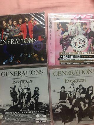 generations from exile tribe 光碟