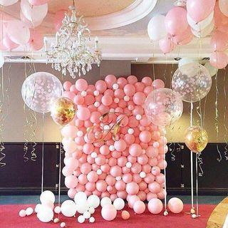 Baloon decoration backdrop