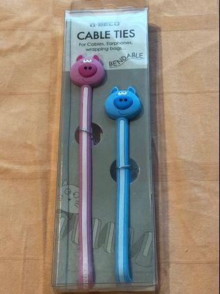 Cute Cable Ties #EndgameYourExcess #mrtsengkang #mrthougang #mrtpunggol #mrtraffles
