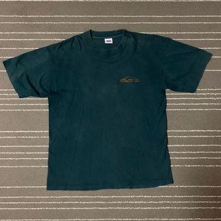 Vintage Quiksilver Dark Green T-shirt