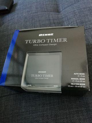 Pivot Genuine Turbo Timer Ultra Compact. Made in Japan