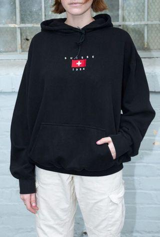 brandy melville 1984 suisse christy hoodie