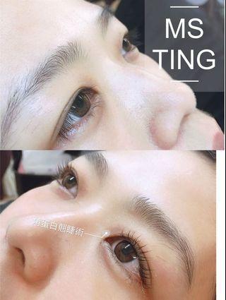 韓式角蛋白翹睫術