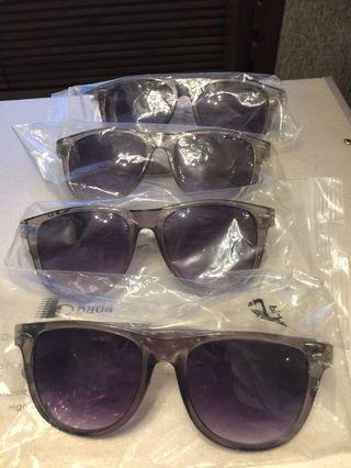 膠框太陽眼鏡