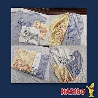 🚚 Haribo小熊軟糖t-shirt(灰)🐻