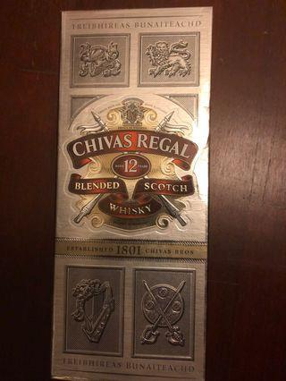🚚 Chivas Regal 12 Years 1L