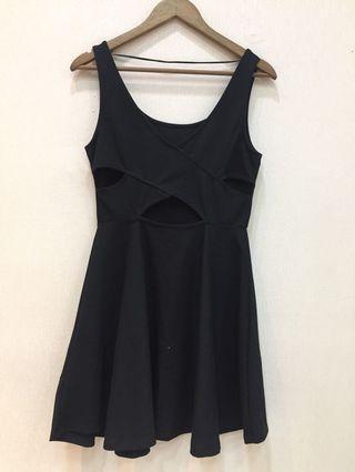 Black dress pull&bear