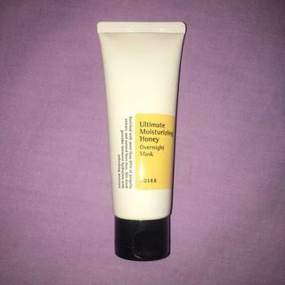 COSRX Ultimate Moisturizing Honey Overnight Mask #mauthr