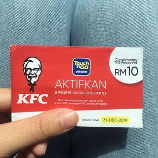 Touch n Go RM10 eWallet