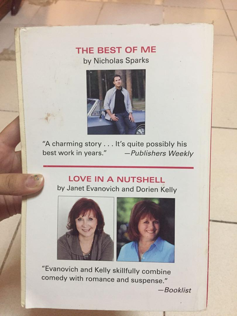 2 in 1: The Best of Me by Nicholas Sparks & Love in a Nutshell by Janet Evanovich