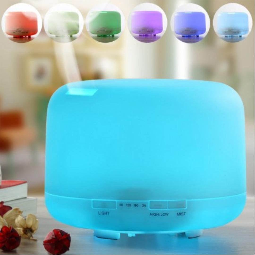 7 LED Color Changing Cool Mist with Essential Oil