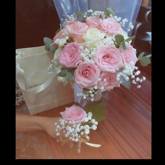 👸💐結婚花球     鮮花花球   Bridal fresh flower bouquet