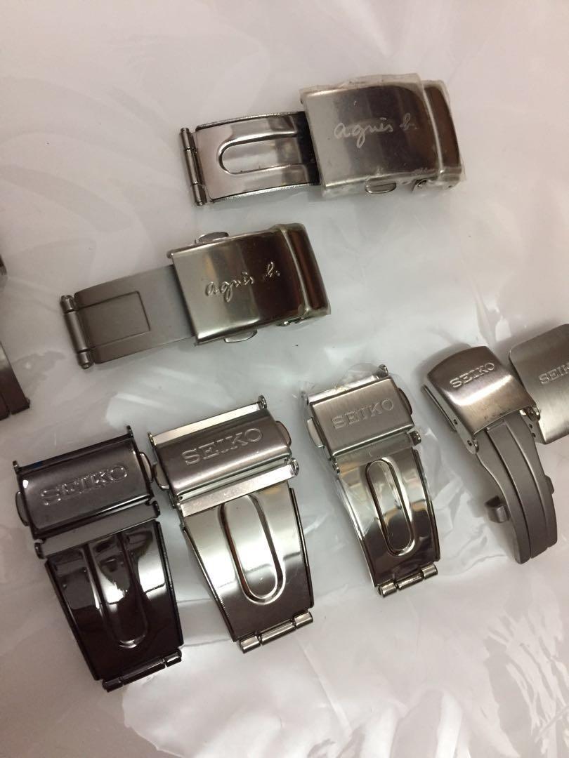 精工 Seiko agnis b 鋼帶 錶扣
