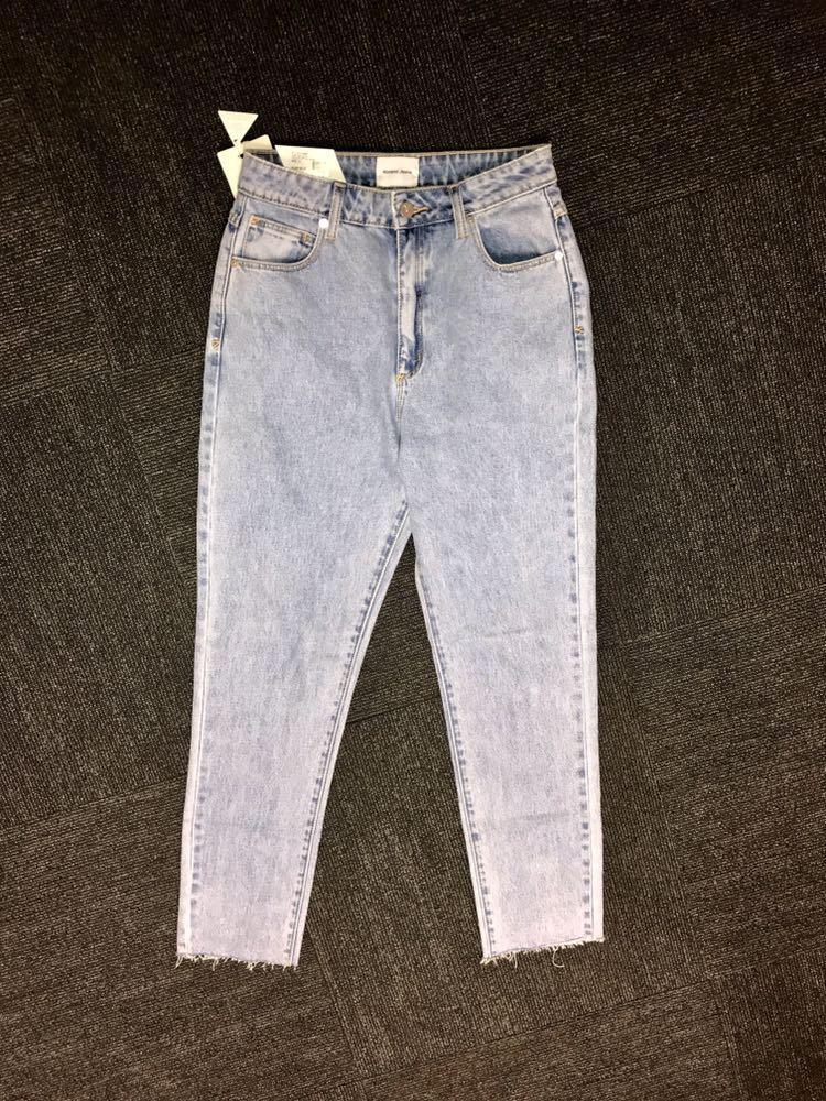 A-Brand Straight Leg Jeans