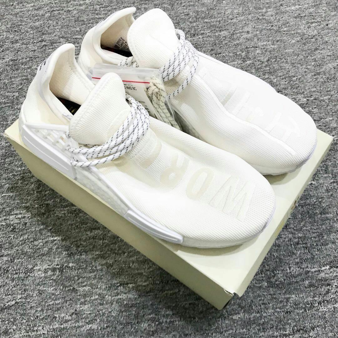 premium selection 27a9f 6abd2 Adidas NMD Pharrell Williams Human Race White Cream, Men's ...