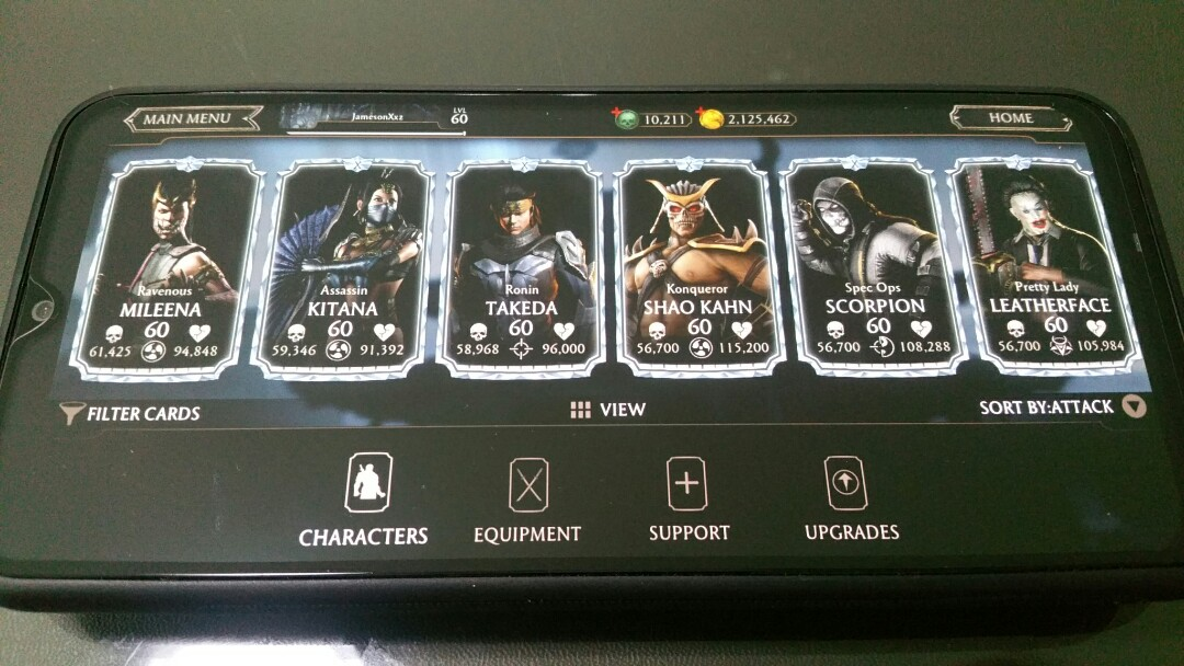 ANDROID MOBILE GAMING - (ANDROID ONLY) Mortal Combat Mobile