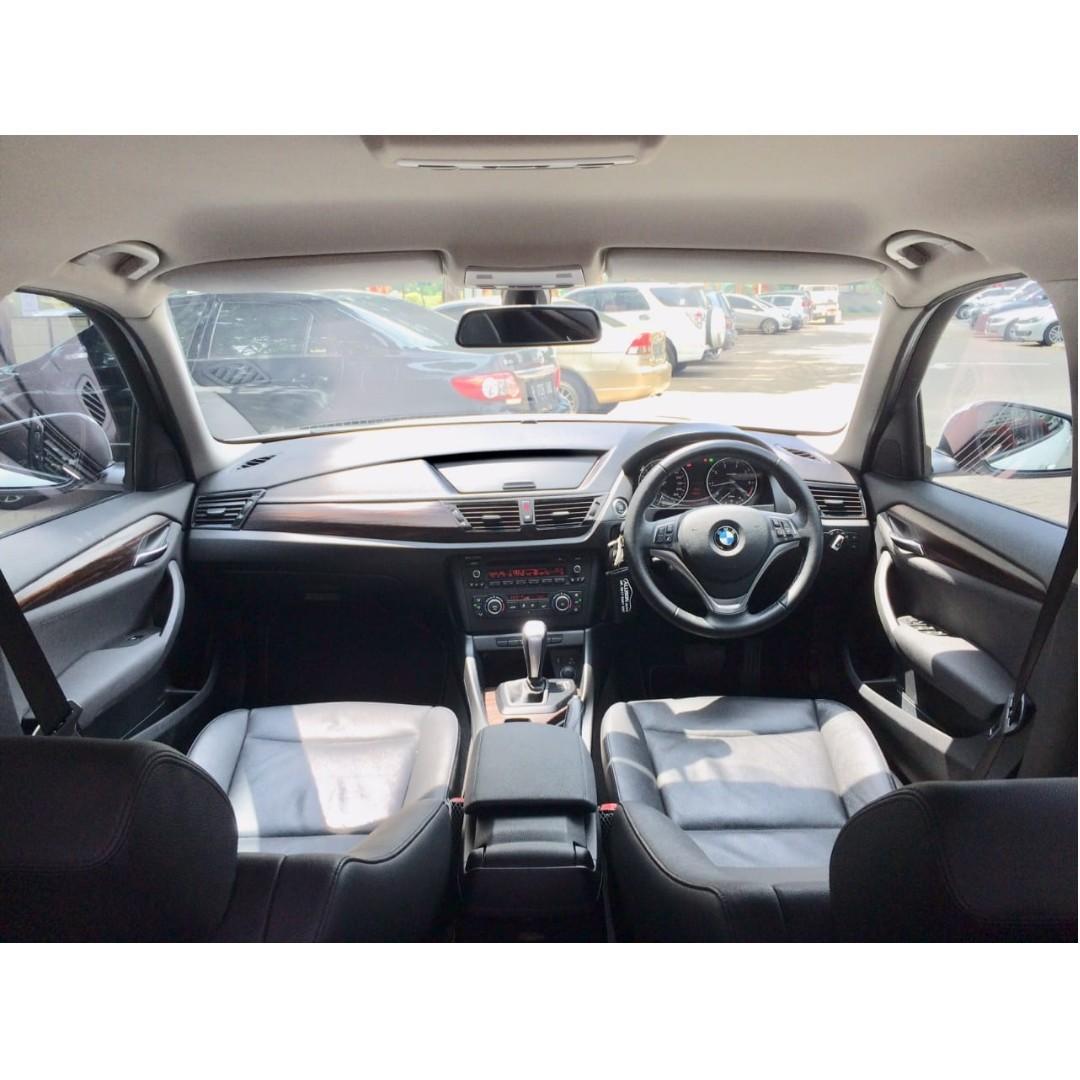 BMW X1 2.0 sDrive 18i Automatic Bensin 2014 White #Top Condition#DP 78,9 Jt No Polisi Ganjil