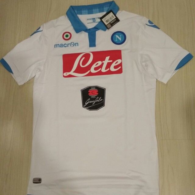 competitive price 74f72 b76b8 BNWT Authentic Original Italy Macron Napoli soccer jersey size XL