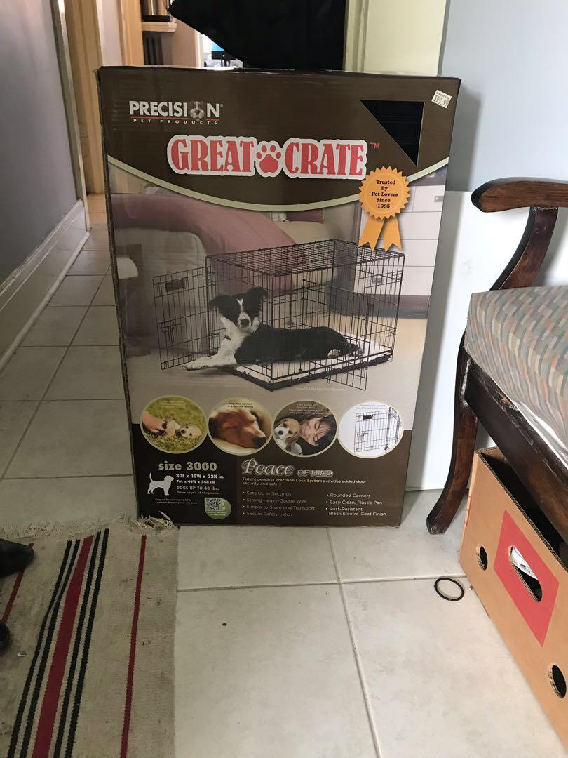 Brand new never used puppy crate