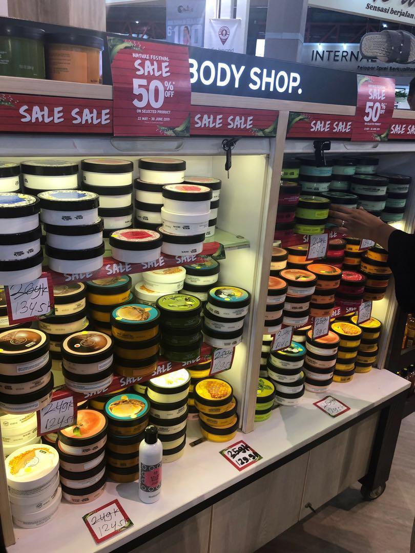 Diskon 70%* Jastip The Body Shop
