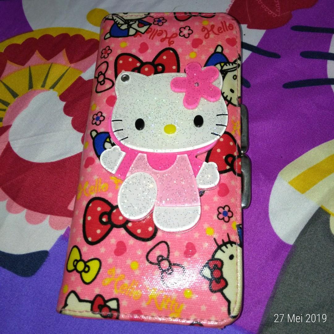 Dompet Hello Kitty cermin