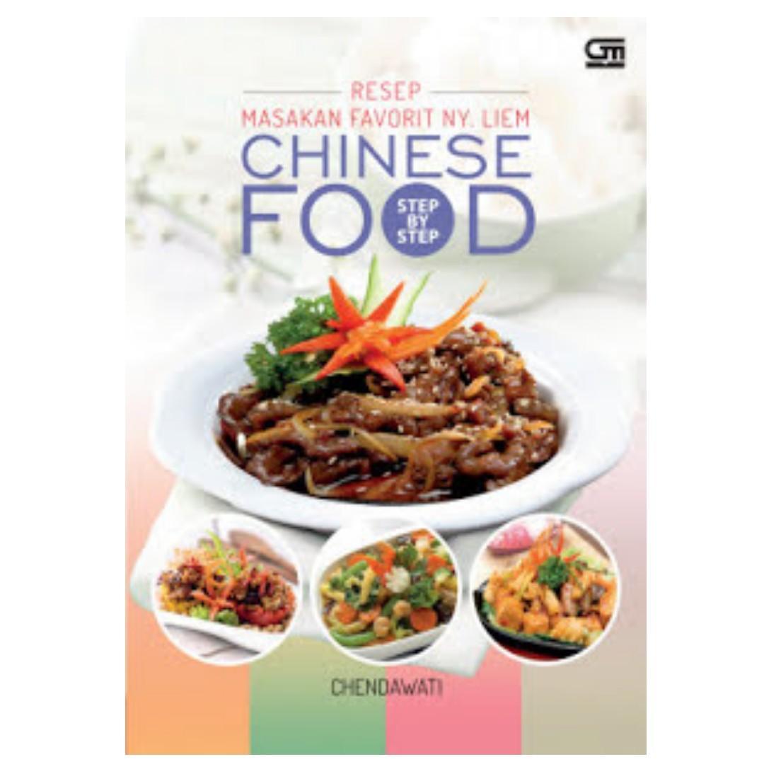 Ebook Step by Step Resep Masakan Favorit Ny. Liem - Chinese Food - Chendawati