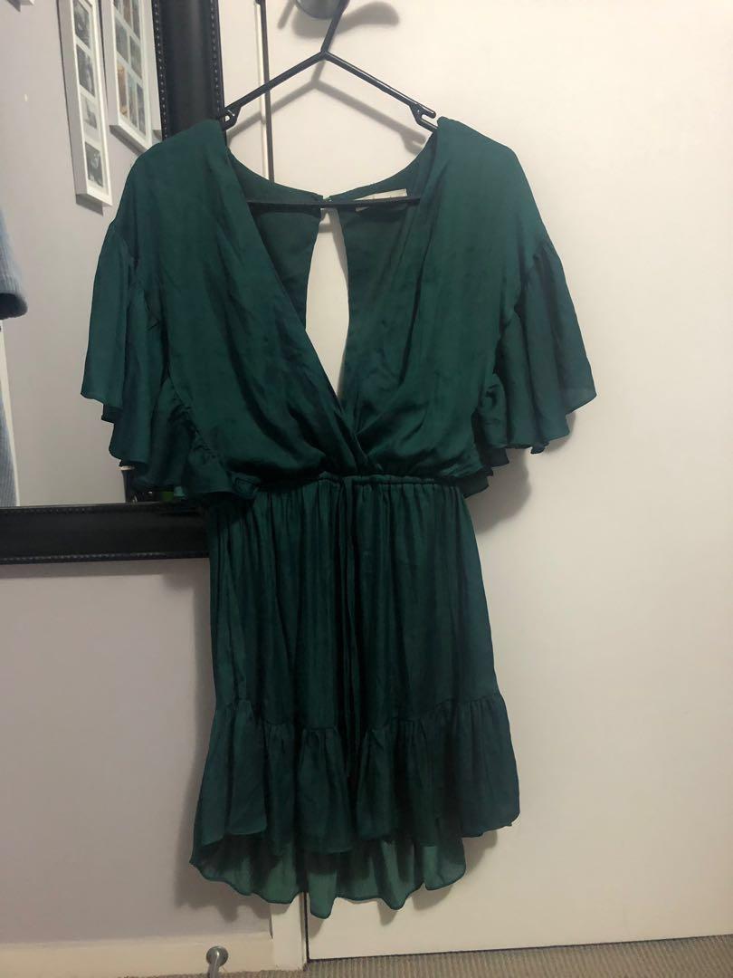 Emerald Showpo dress