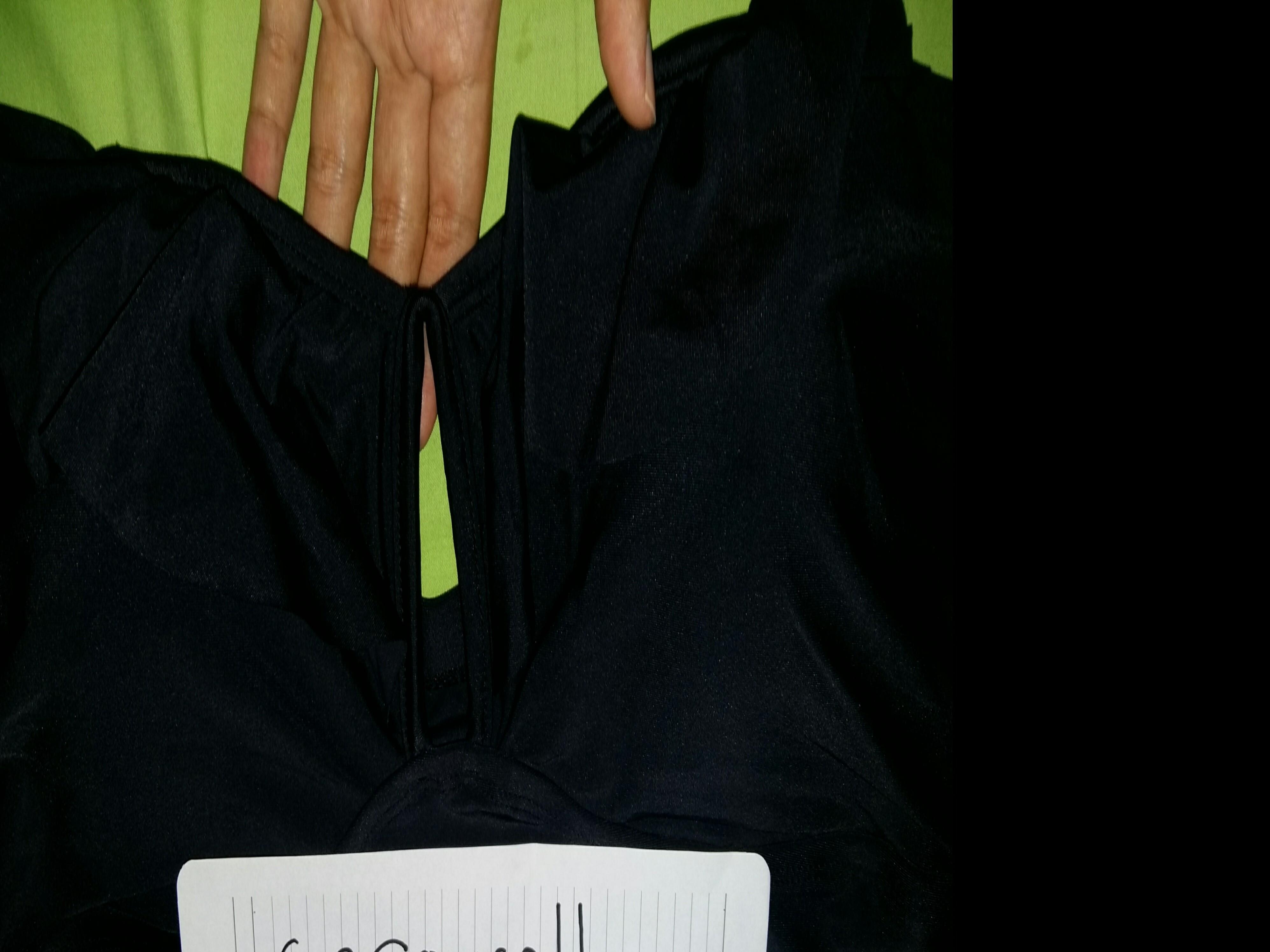 Forever21+ Black Plus Size Swimsuit