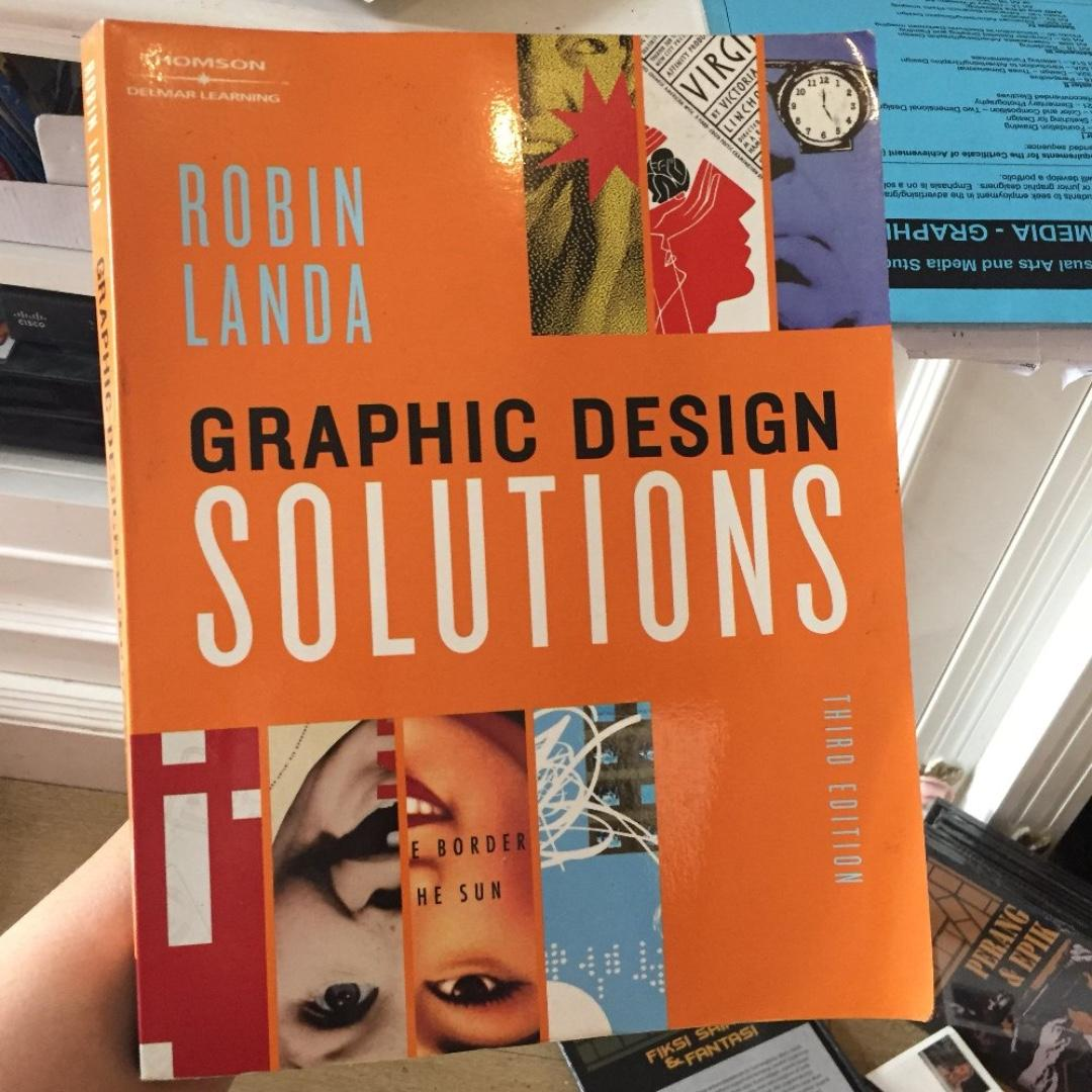 Graphic Design Solutions Karangan Robin Landa Third Edition Textbook Buku Import Original Paperback Jual