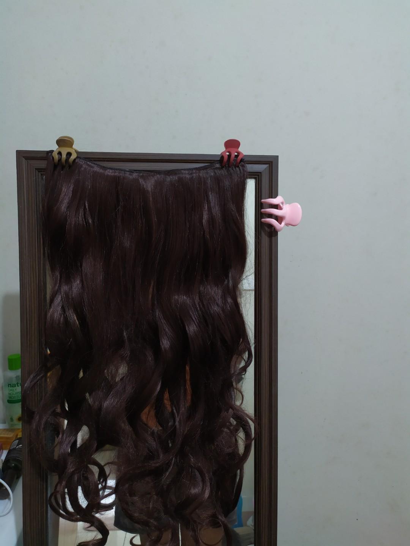 Hair extensions / rambut palsu / rambut sambung