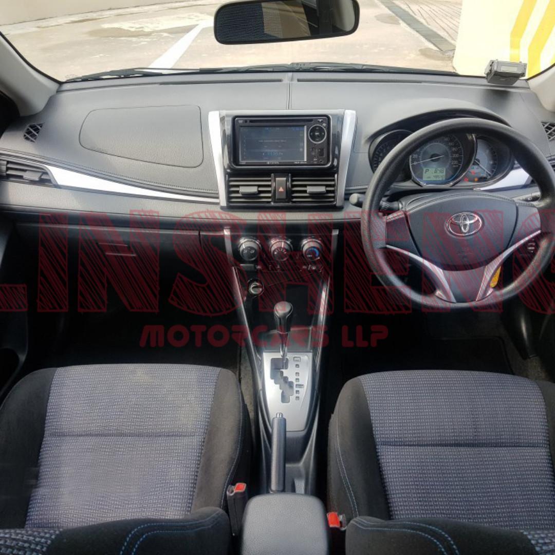 Toyota VIOS (2016/Petrol) - Private Hire Ready (Grab/GoJek/Ryde/Tada)