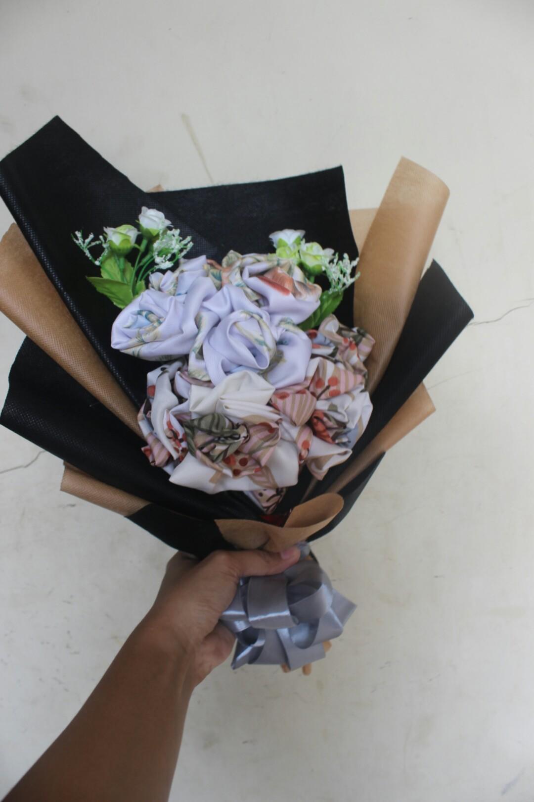 Hijab Bouquet Flowers