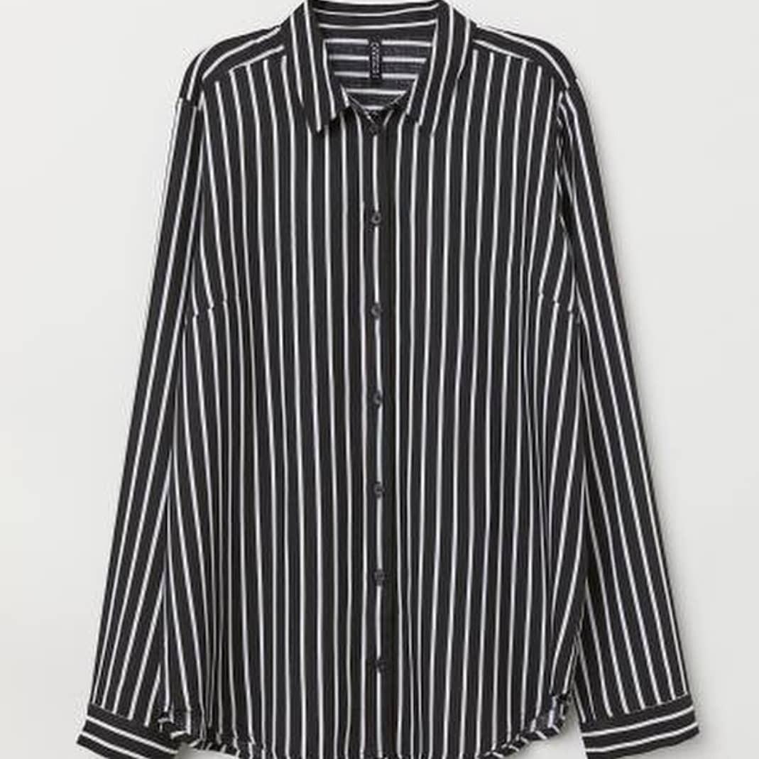 H&M Stripe Black #mauthr