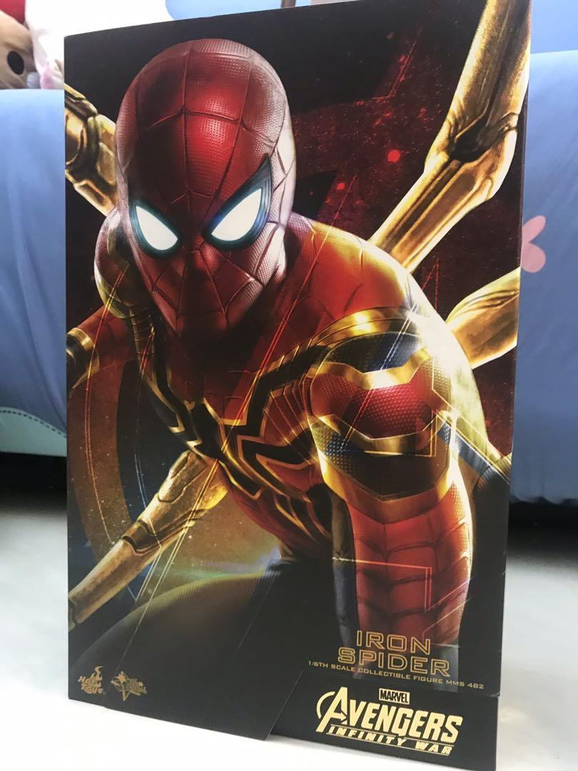 Hottoys Avengers infinity war iron spider