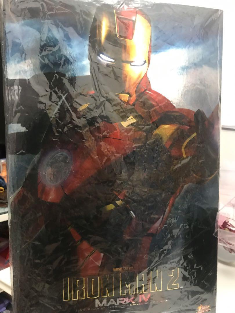 hottoys Ironman mark iv ver1.0 mark 4 膠版
