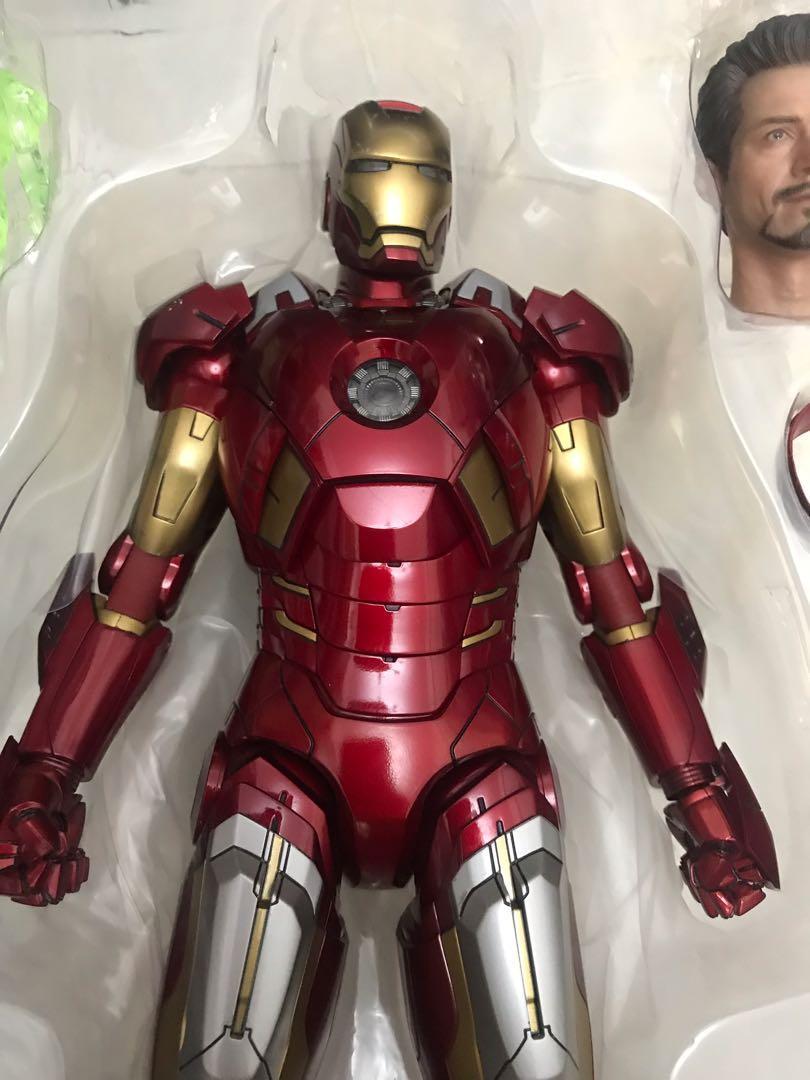 hottoys Ironman mark Vii 1.0 special ver