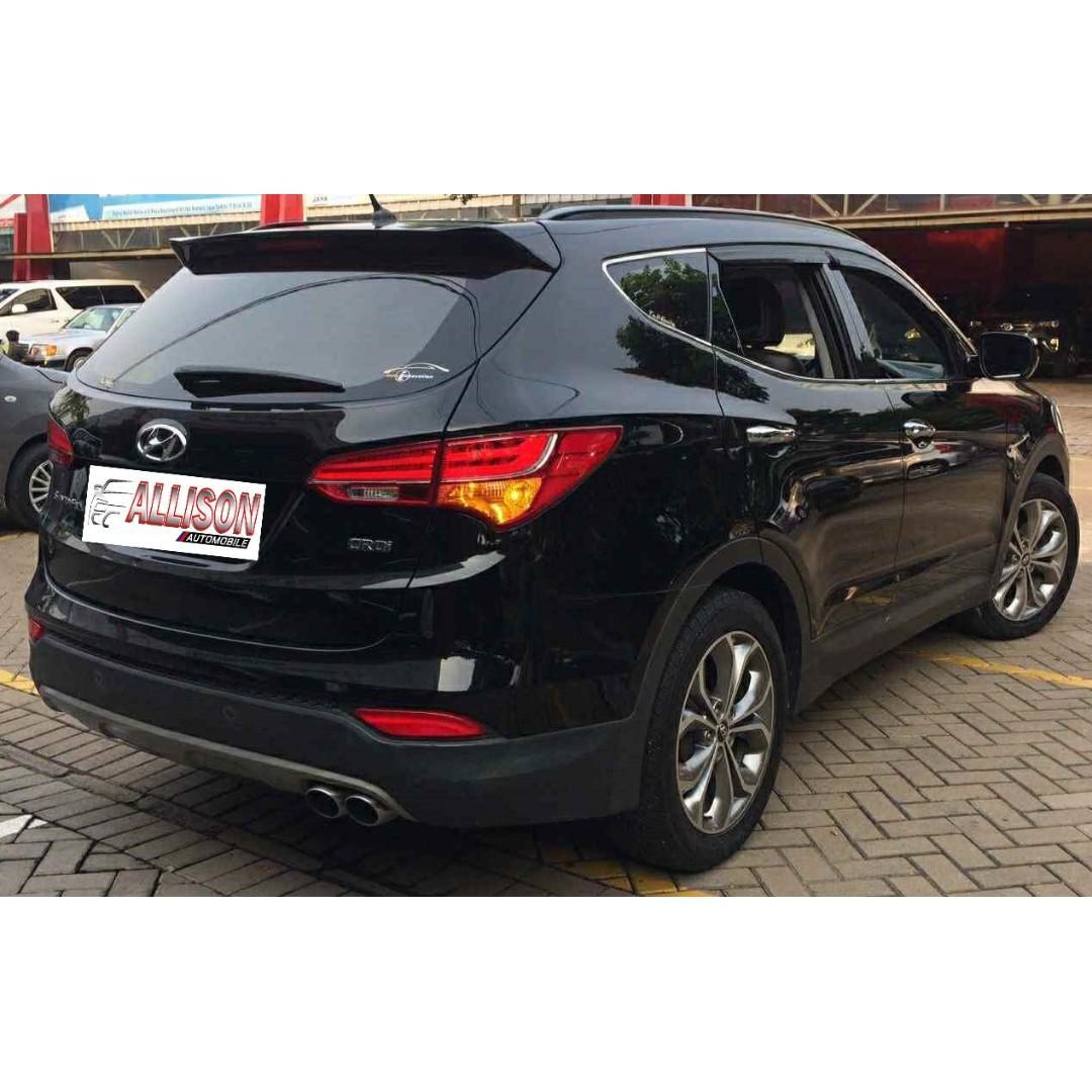 Hyundai Santa Fe 2.2 CRDi AT 2013 Hitam SunRoof Dp 26,9 Jt
