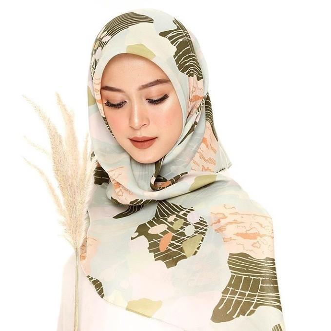 Jilbab vine motif