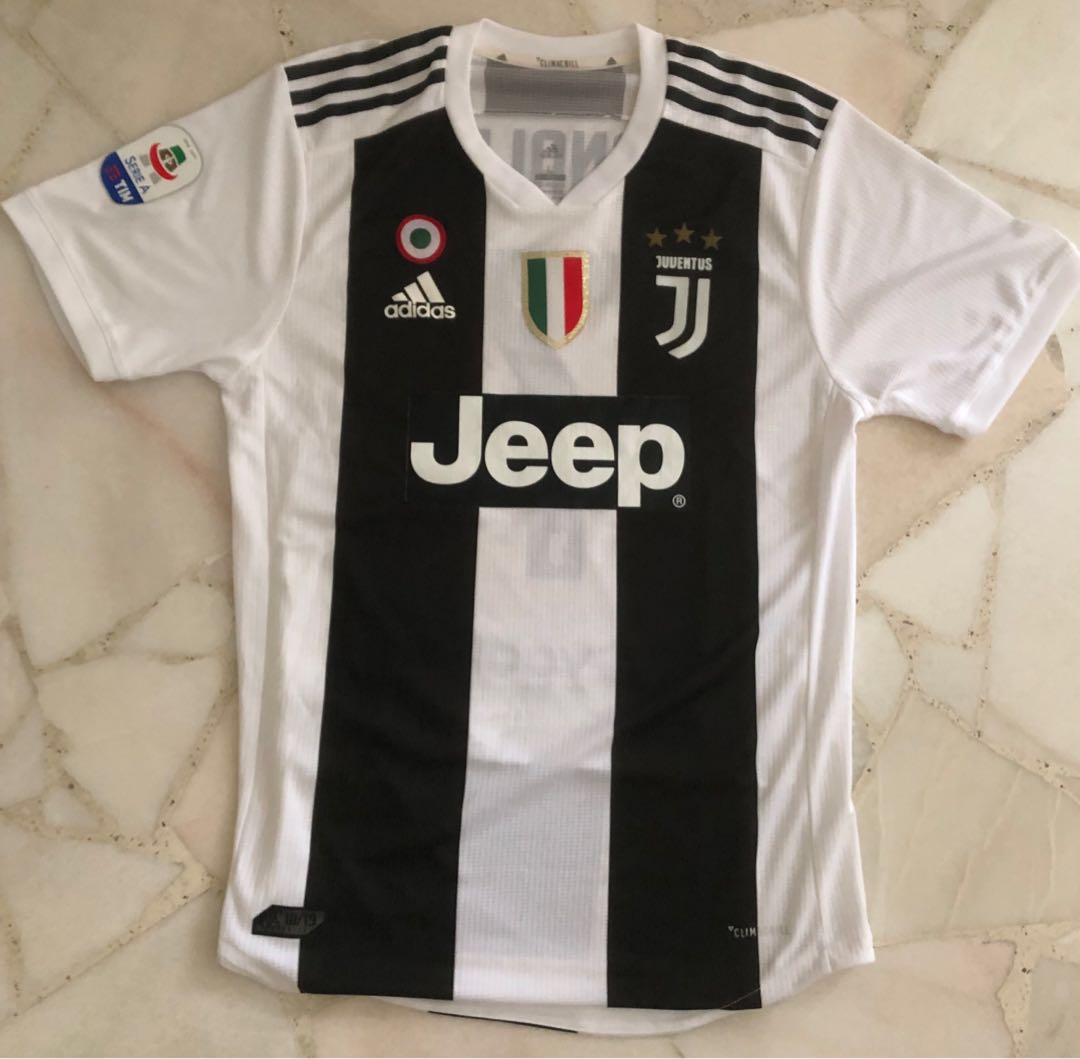 newest 2dc62 63b90 Juventus Home Jersey 18/19