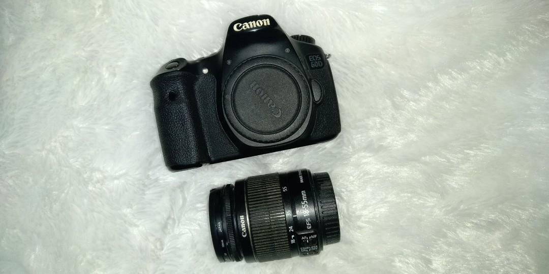 Kamera Canon 60D kit 1