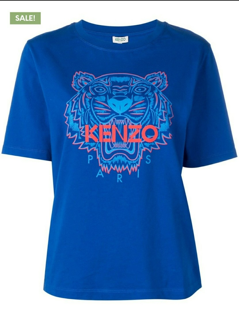 6d475419e12 Kenzo Tiger T-shirt, Women's Fashion, Clothes, Tops on Carousell