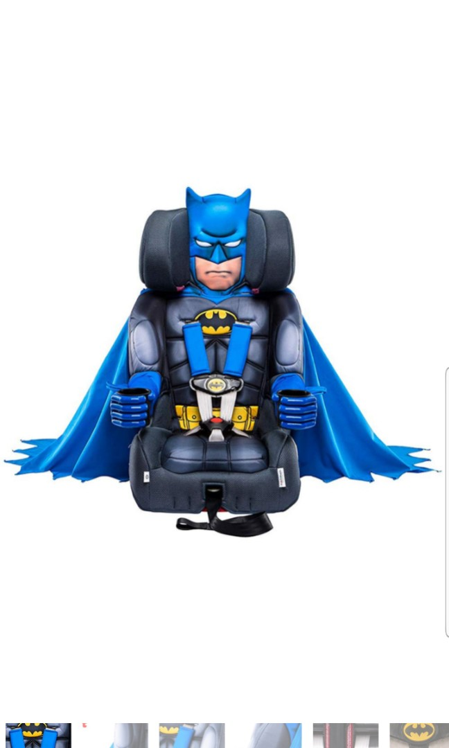 Incredible Kidsembrace Dc Comics Batman Combination Children Kids Child Booster Car Seat Chair Machost Co Dining Chair Design Ideas Machostcouk